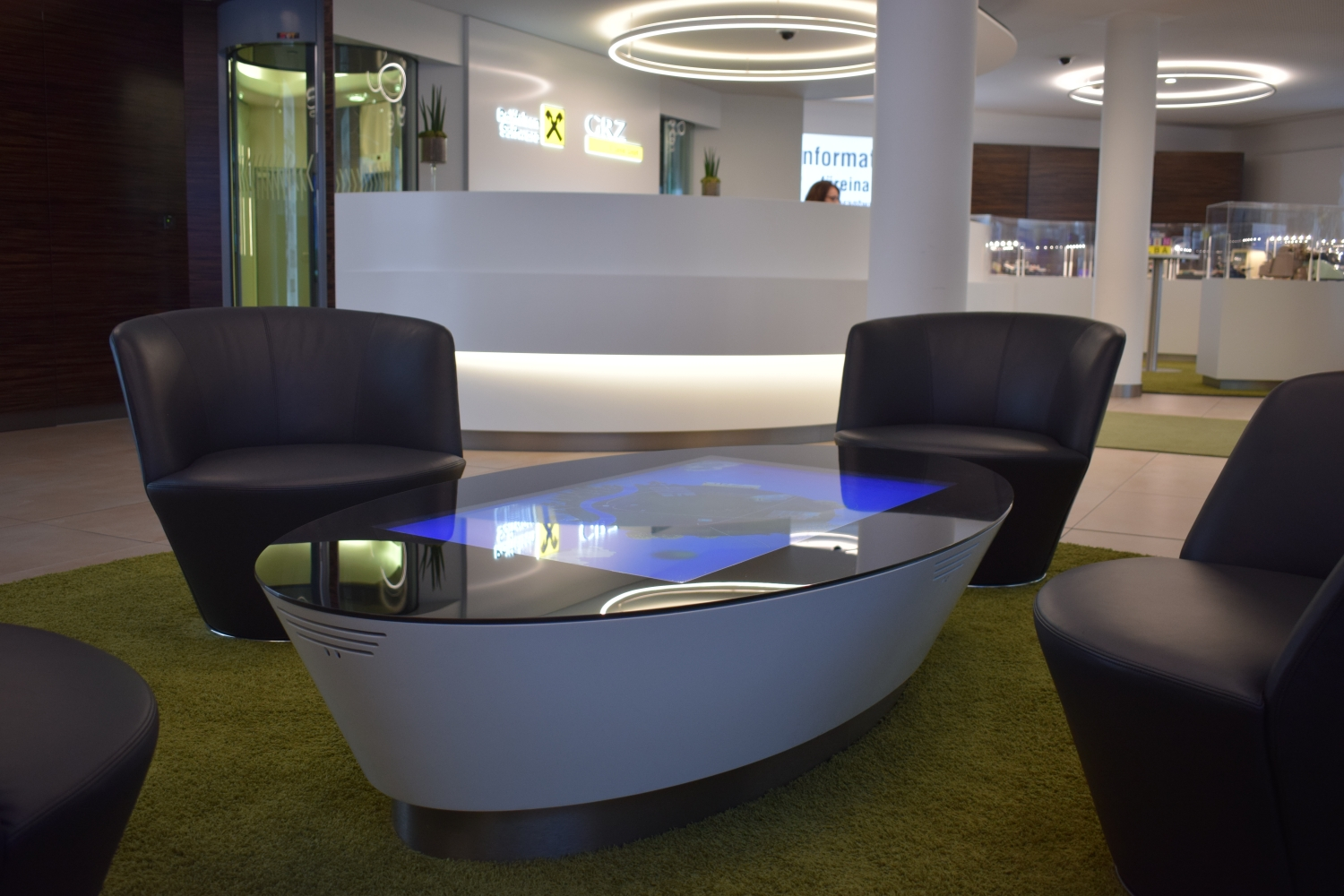 GRZ IT Center – Reception Area